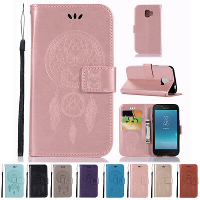 For Samsung Galaxy J2 Pro 2018 Magnetic Flip Wallet PU Leather Stand Case Cover