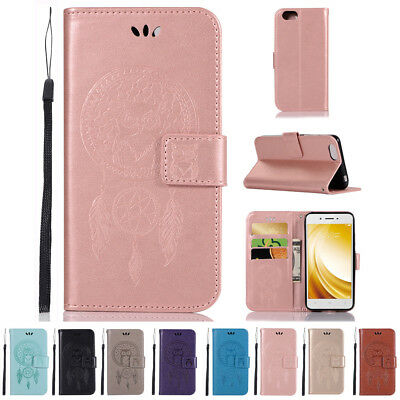 FOR VIVO V9 X21 UD Phone Case Cover PU Leather Skin Flip Back Wallet