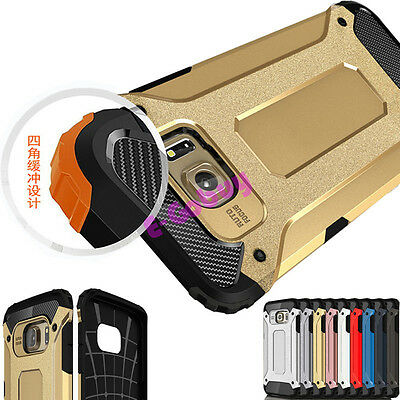 Shockproof Armour Rugged Hybrid Hard Cover Case For Samsung Galaxy S7 J2 J5 2018