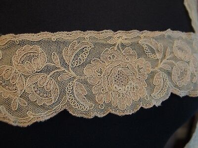 antique Schiffli lace collar