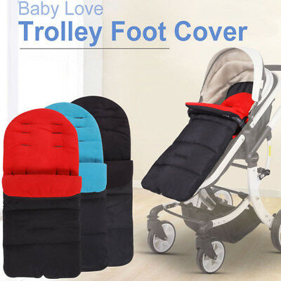 US STOCK Warm Baby Stroller Foot Muff Buggy Pushchair Pram Foot Cover Windproof