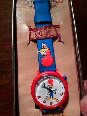 1994 Woody Woodpecker Universal Studios Limited Edition Collector's Watch