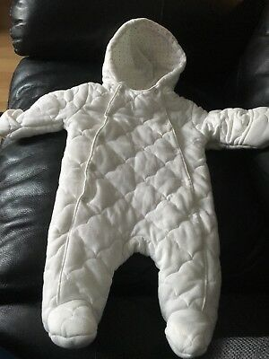 Quilted Snowsuit 0-3 Months