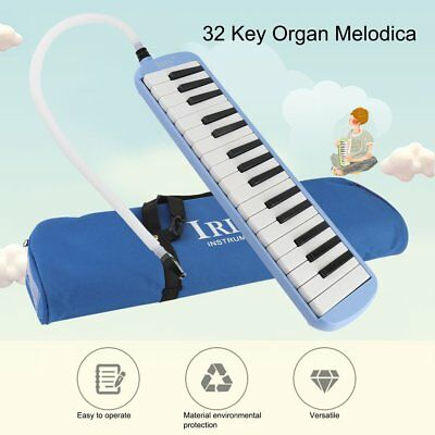 32 Piano Keys Beginner Organ Melodica Accordion Mouth Piece Musical Instrument
