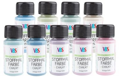 """VBS Stoffmalfarbe """"Chalky"""", 50 ml"""