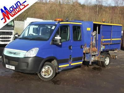 2011 '60' Iveco Daily 45C14, RORO Hook Loader Demountable TIPPER with Side Lift