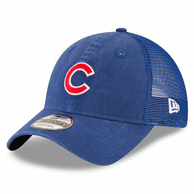 MLB Chicago Cubs New Era Central Team Trucker 9TWENTY Cap Youth Kids