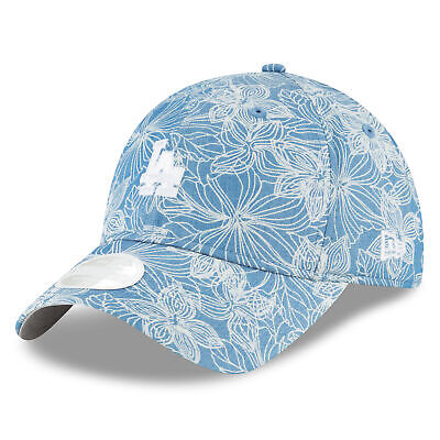 MLB Los Angeles Dodgers New Era Faded Floral 9TWENTY Cap Womens