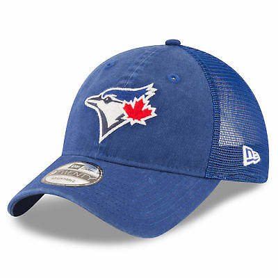 MLB Toronto Blue Jays New Era Central Team Trucker 9TWENTY Cap Unisex