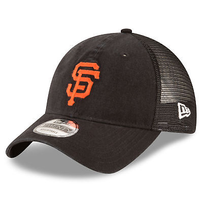 MLB San Francisco Giants New Era Central Team Trucker 9TWENTY Cap Unisex