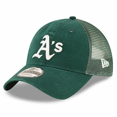 MLB Oakland Athletics New Era Central Team Trucker 9TWENTY Cap Unisex