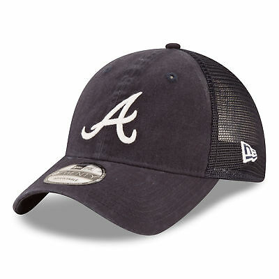 MLB Atlanta Braves New Era Central Team Trucker 9TWENTY Cap Unisex