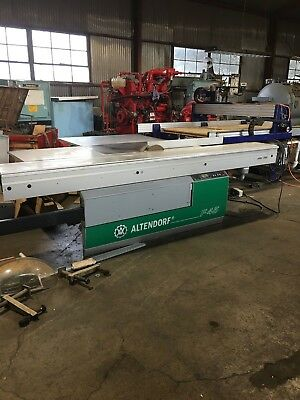2006 ALTENDORF F45 SLIDING TABLE SAW 10 HP 3 PH 2006 Excellent condition