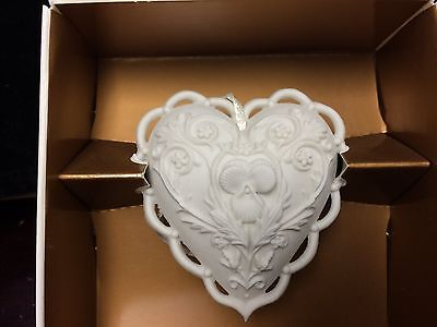 "Margaret Furlong ""From the Heart"" heart Ornament MIB"