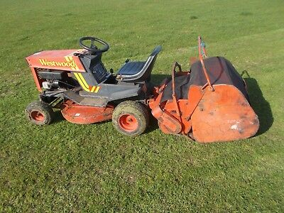 Sweeper / Collector for a Westwood Tractor Mower stored inside my Digger Shed