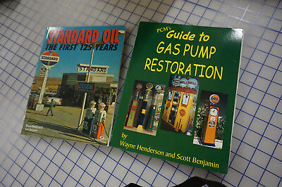 Lot of 17 gas station collectibles reference books for one price. Texaco, Gulf