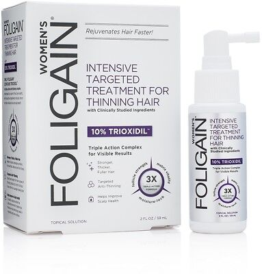 FOLIGAIN Intensive Targeted Treatment For Women With 10% Trioxidil