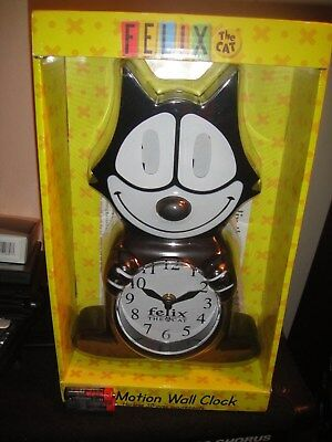 Felix The Cat Retro Clock