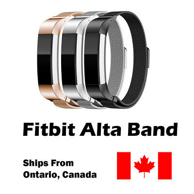 For Fitbit Alta Band Alta HR Ace Band Replacement Milanese Loop Watch Strap