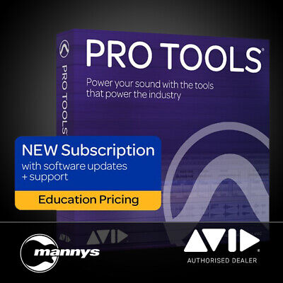 Avid Pro Tools 1-Year Subscription (EDU Student/Teacher Version)