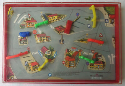 Magneto  3103    Magnetisches   Verkehrs - Spiel    Made  In  Western  Germany