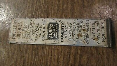 Antique ADAMS Express Co. Rate or Check Cutter