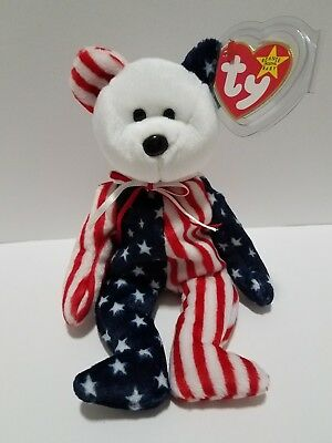 TY BEANIE BABY Beanie Babies Original  1999 SPANGLE -ERROR, AUTHENTIC-RARE