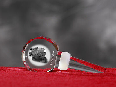 Cane Corso, Crystal Wine Stopper with Dog ,Wine and Dog Lovers, High Quality UK