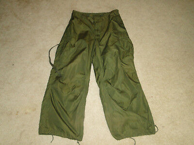Vintage US  Military Uniform Trousers SheIl M511951 PANT KOREA War W32- 34  x 29