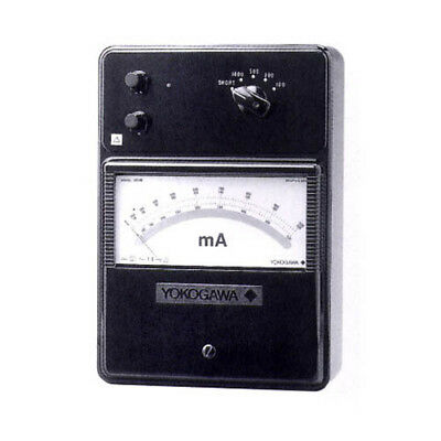 Yokogawa 201602 High Frequency Ammeter, 20/50/100/200 mA; 10 Hz to 2 M