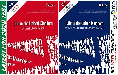 New Life in the United Kingdom UK 2018 3rd edition Citizenship Test Book QA+Std