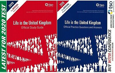 New Life in the United Kingdom UK 3rd edition Citizenship Test Book QA+Std 2019