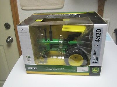 "1/16 John Deere 4320 #5 Precision Elite Tractor Nib ""sold Out"""