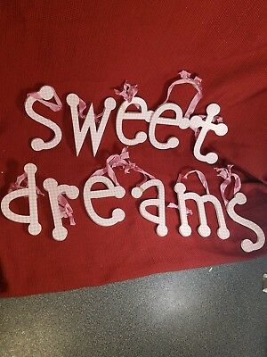 SWEET DREAMS letters for wall