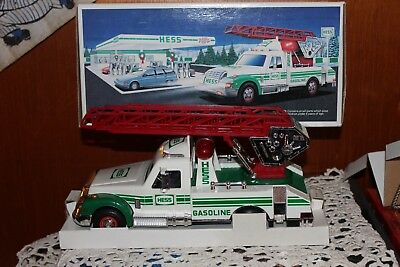 1994 Hess Rescue Truck With Siren,horn & Back-Up Alert *new In Box*