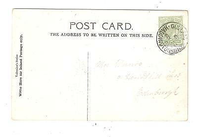 GULLANE Haddingtonshire 1905 postmark shows West End EAST LOTHIAN Scotland