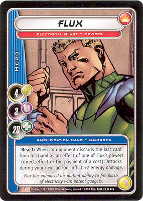 City of Heroes CCG 70-Card Tourney Deck (Flux)