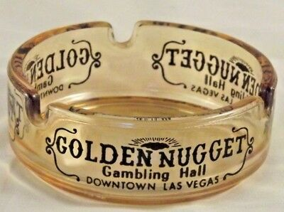 Ashtray Vintage Golden Nugget from Las Vegas Nevada RARE