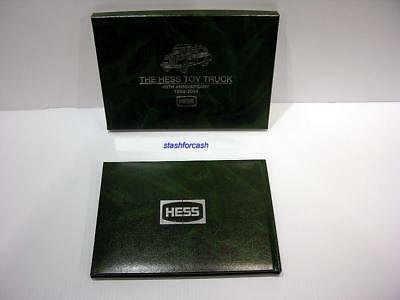 Hess Toy Truck 40th Anniversary RARE LIMITED LEATHER EDITION - 1964 to 2004