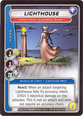 City of Heroes CCG 70-Card Tourney Deck (Lighthouse)