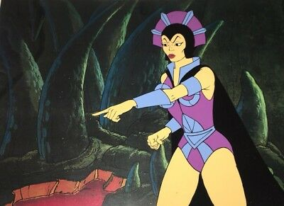 Masters of the Universe Animation Production Cel Evil-Lyn  Motu Art