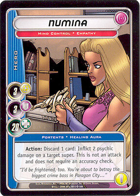 City of Heroes CCG 70-Card Tourney Deck (Numina)