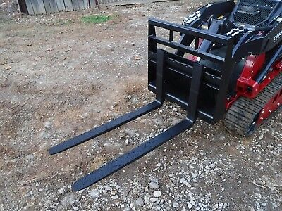 "Toro Dingo Mini Skid Steer Attachment New 42"" Pallet Forks - Ship for $149"