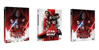 Star Wars: The Last Jedi - Blu-ray, DVD Slip Case Edition (2018)