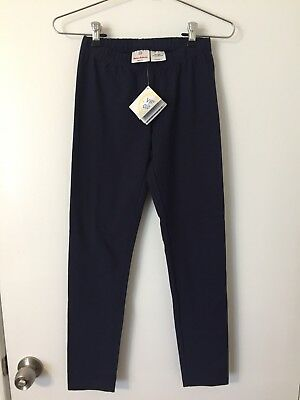 Hanna Andersson 150 11-13 Years Navy Blue Leggings NWT