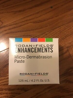 Rodan and Fields Enhancements Micro-dermabrasion Paste LARGE 4.2 oz SEALED!