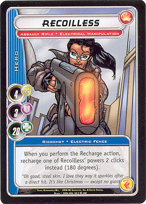 City of Heroes CCG 70-Card Tourney Deck (Recoilless)