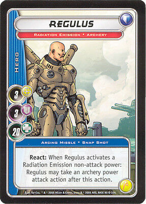 City of Heroes CCG 70-Card Tourney Deck (Regulus)