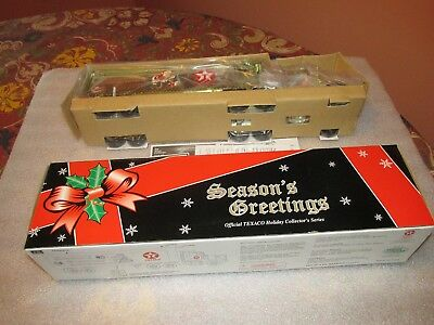 1999 Texaco Season Greetings Box Trailer Truck Credit Card Edition