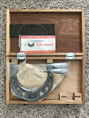 Mitutoyo Limit Micrometer 113-105 Range 75-100mm